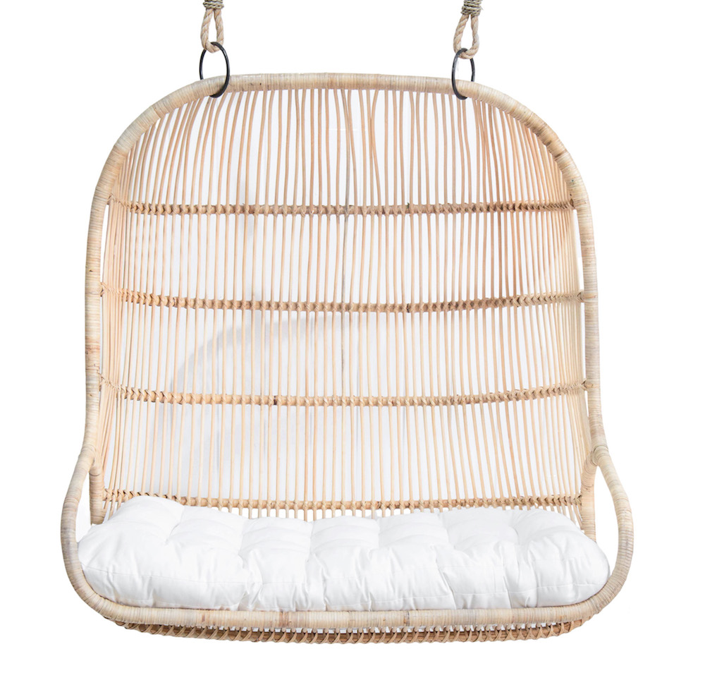 Bangalow Double Hanging Chair – Natural