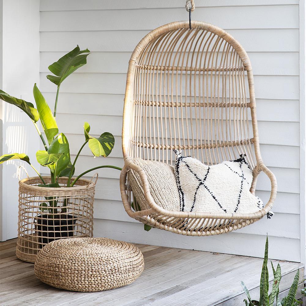 Bangalow Single Hanging Chair – Natural