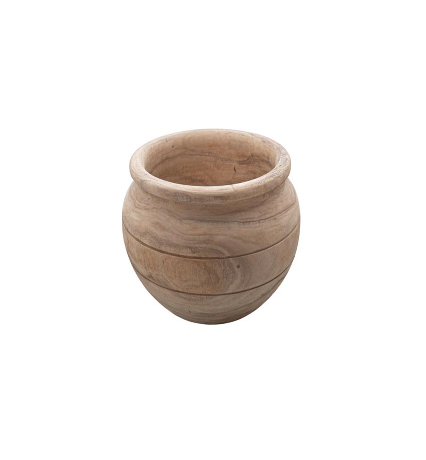 Batik Wooden Vessel Small