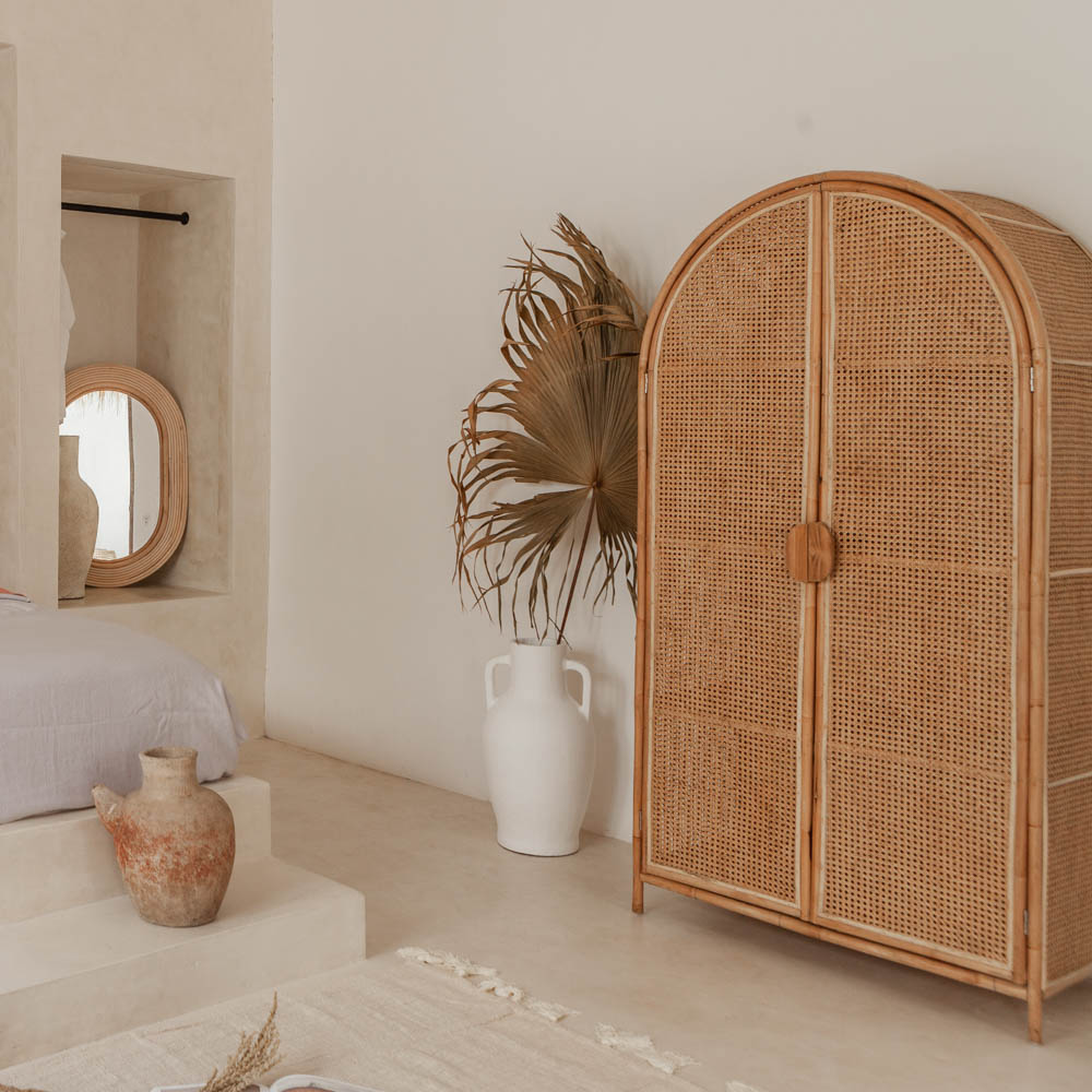 Moon Light Arch Cabinet