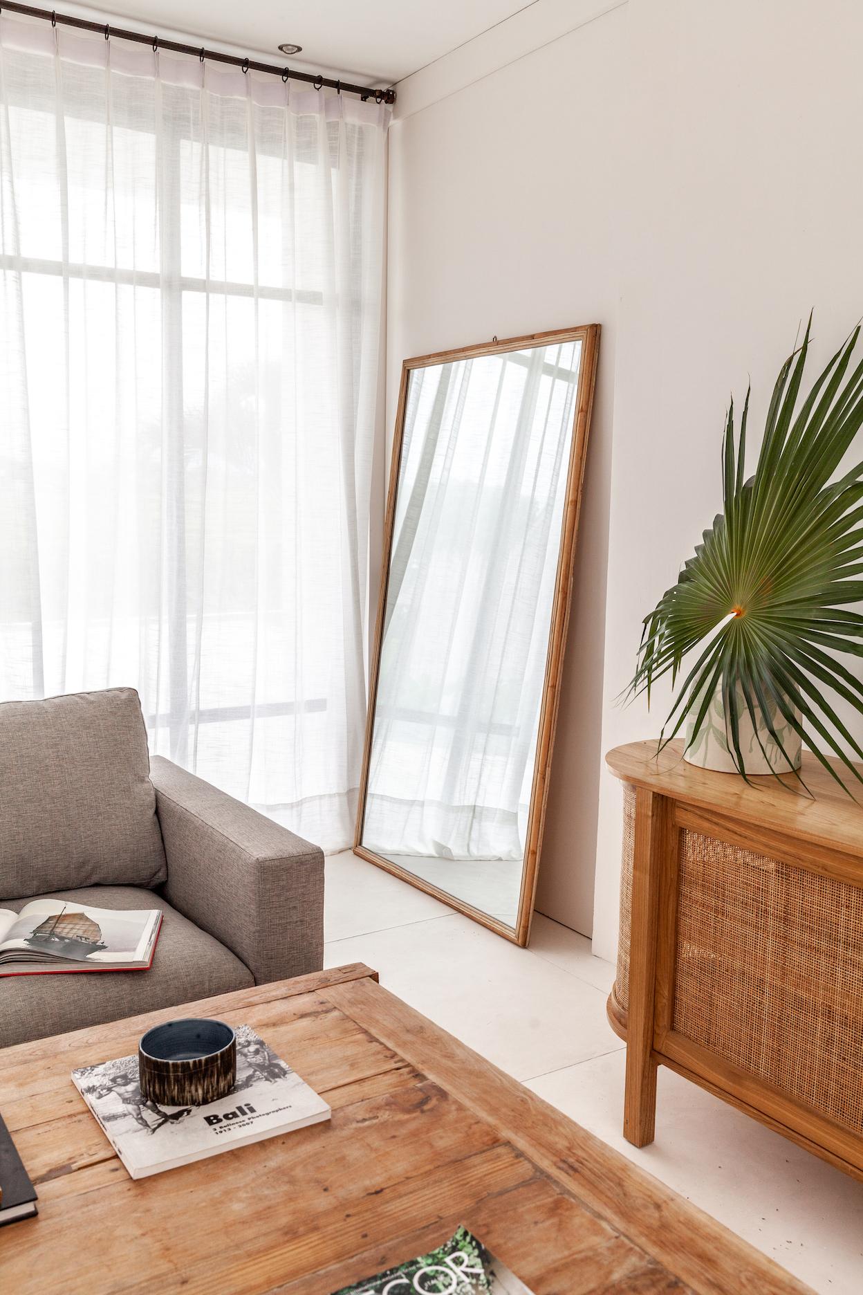 Ibiza Rectangle Floor Mirror