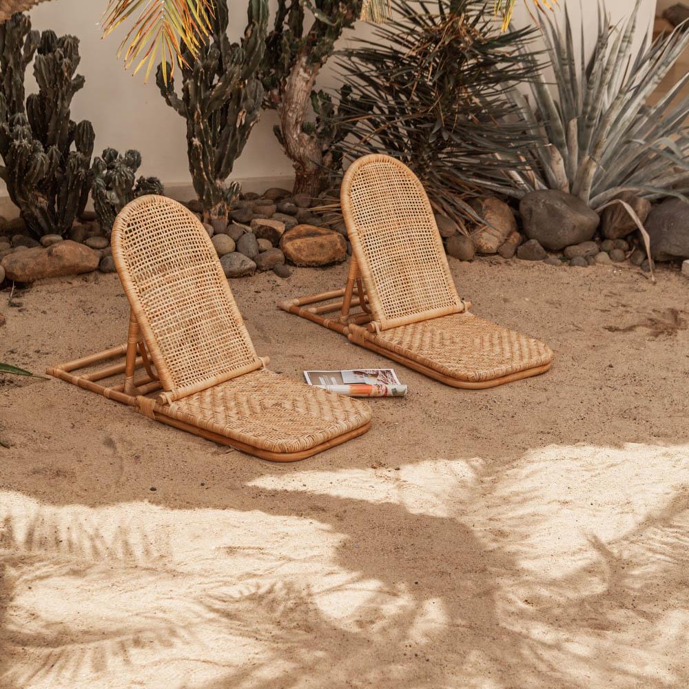 Beach Lounger  – Natural